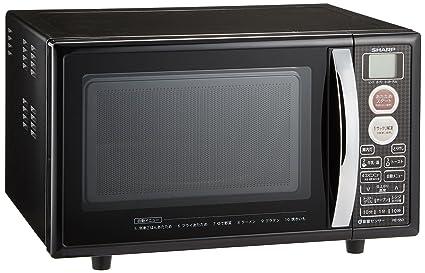 シャープ オーブンレンジ トースト機能付き 15L ブラック RE-S5D-B