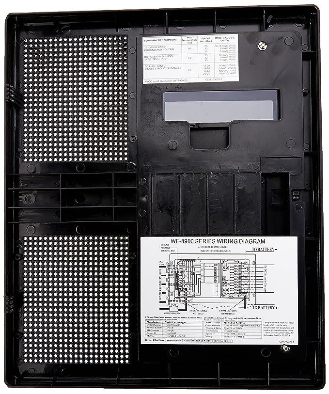 Amazon.com: Arterra WF-8955PEC-B-DA Black WFCO Electronics WF8955PEC on