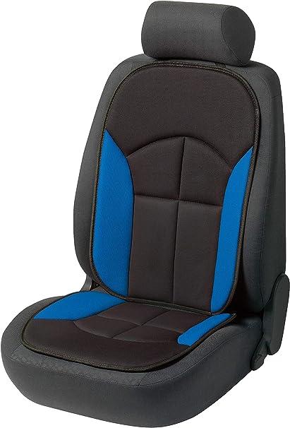 Walser Autositzauflage Novara Universelle Sitzauflage Und Schutzunterlage In Schwarz Blau Sitzschoner Für Pkw Und Lkw 13445 Auto
