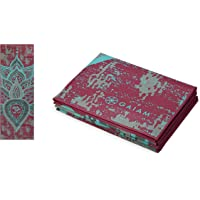 Gaiam Yoga Mat Folding Travel Fitness & Exercise Mat | Foldable Yoga Mat for All Types of Yoga, Pilates & Floor Workouts…