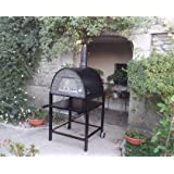 ORDER WITH OVEN AND SAVE £ Wood-Fired Maximus Black Steel Oven Stand (STAND ONLY NOT OVEN)