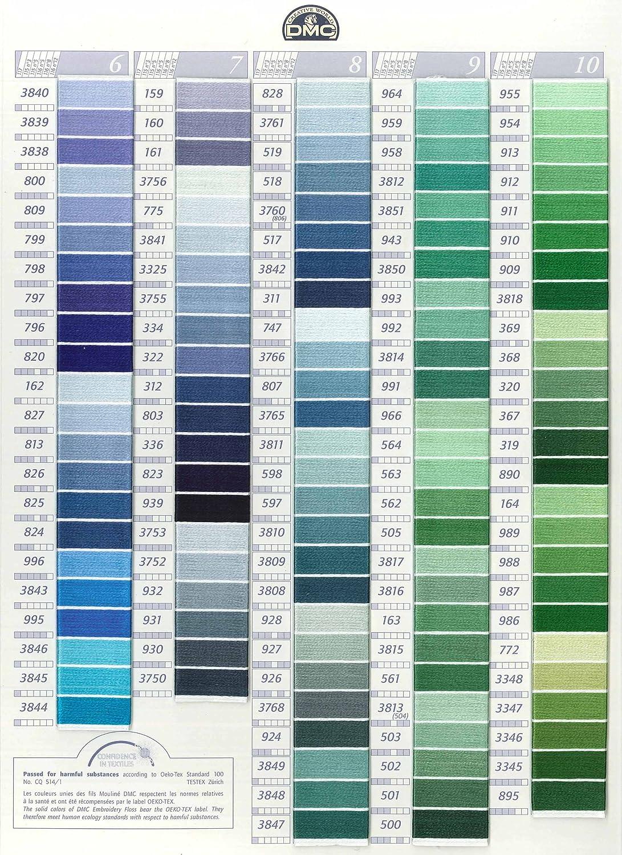 DMC 6-Strand Embroidery Cotton 8.7yd-Medium Lavender