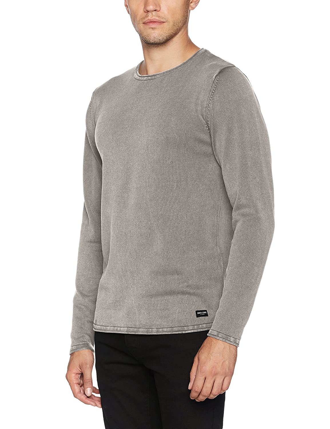 Only and Sons Mens Spot Crew Neck NOOS Long Sleeve Jumper Only & Sons Clearance Best Place Sale The Cheapest s8YyMf