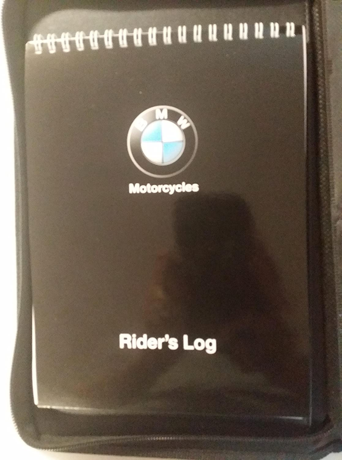 BMW XPLOR Motorcycle Fuel and Mileage Log Book with Insurance Holder and Pen