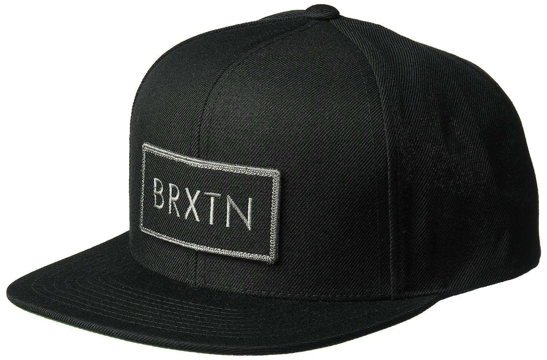Amazon.com  Brixton Men s Rift Snapback Hat ff9c0cd4874