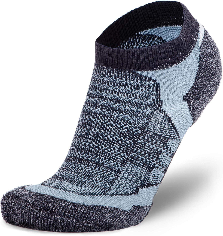 More Mile Mens Womens Running Socks Black Breathable Ultra Lightweight Race Sock