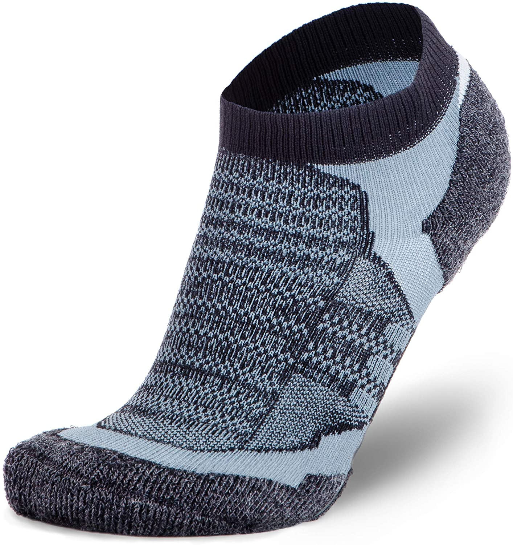 Pure Athlete Merino Wool Socks Men Low Cut Cushioned Athletic Running Sock Moisture Wicking Youth Women