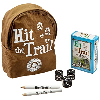 Education Outdoors Hit The Trail Card Game: Education Outdoors: Toys & Games