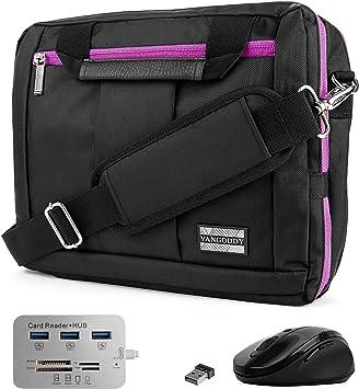 Kylinttw Mens Messenger Bag Waterproof Vintage Genuine Leather Briefcase Large Satchel Shoulder Bag Rugged Leather Computer Laptop Bag