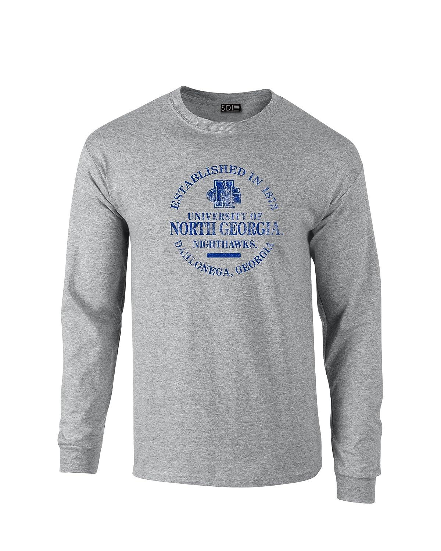 【楽天スーパーセール】 NCAA B01H82B74U North North Georgiaナイトホークス100 %防縮加工長袖Tシャツ、スポーツグレー、4 x x l B01H82B74U, モバックス梅田店:8112bb9d --- a0267596.xsph.ru