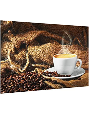 Bilderwelten Panel antisalpicaduras de Cristal - Morning Coffee - Horizontal 2:3, Panel antisalpicaduras