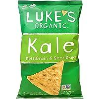 Luke's Kale Organic Multi-Grain and Seed Chips, 142g