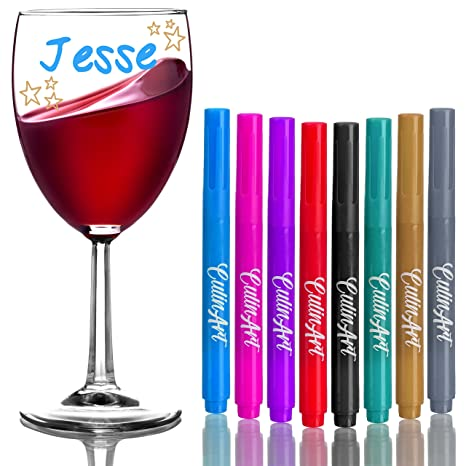 Review CulinArt Wine Glass Markers