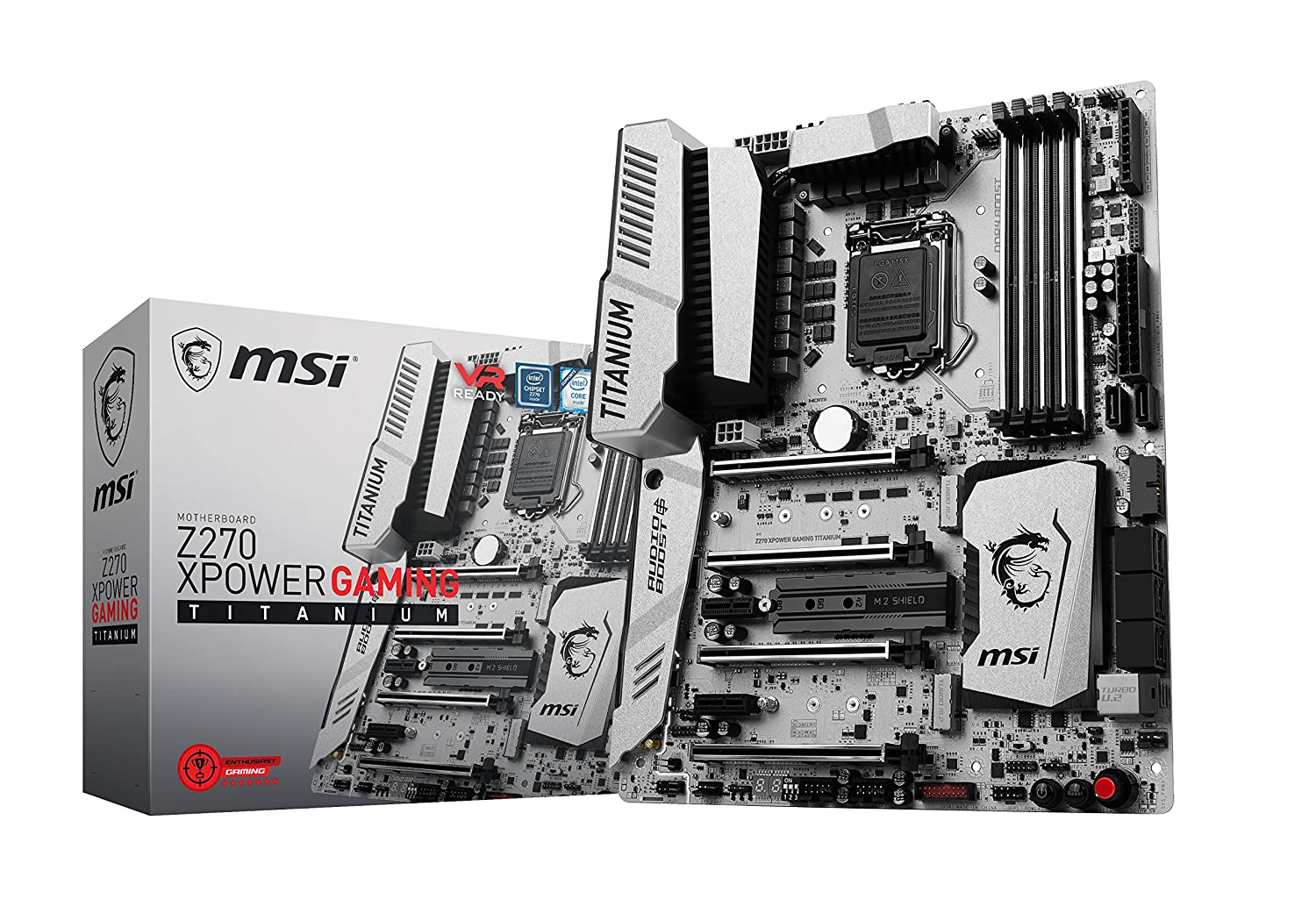 MSI Z270 XPower Gaming Titanium Review: A Z270 return for the silver surfer.
