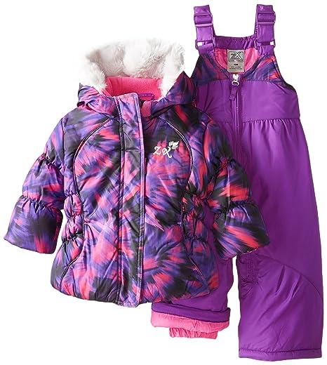 0e6248ce9fb2 Amazon.com  ZeroXposur Baby-Girls Infant Amanda Snowsuits