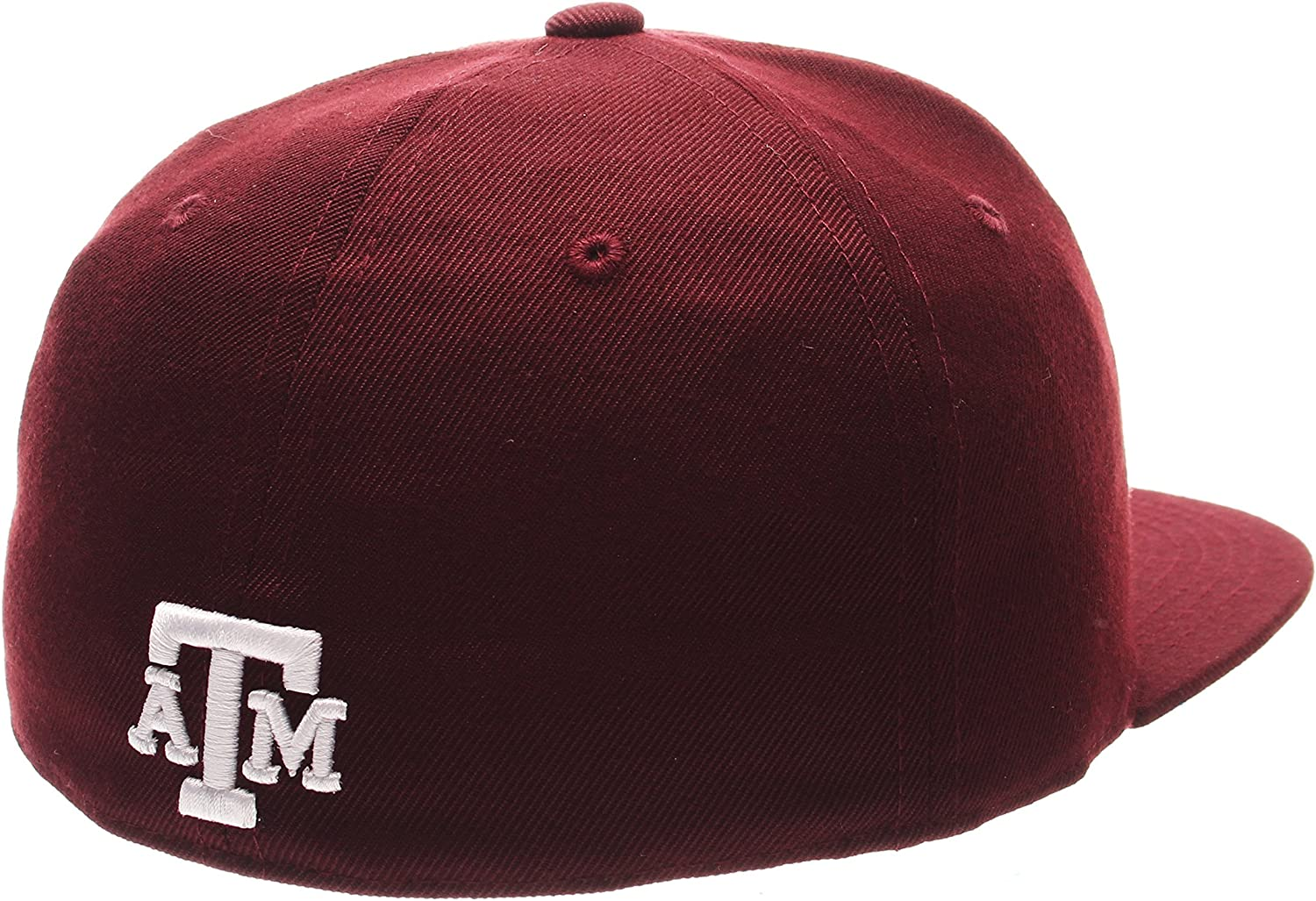 Size 7 1//4 Maroon NCAA Zephyr Texas A/&M Aggies Mens M15 Fitted Hat