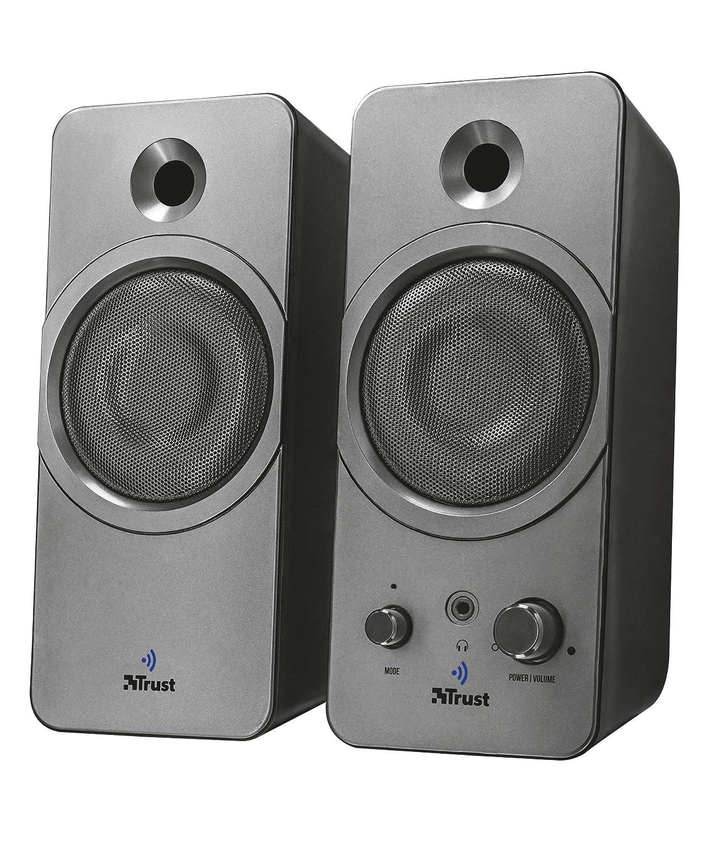 Trust Zelos 2.0 Lautsprecher (mit Bluetooth) schwarz 22654