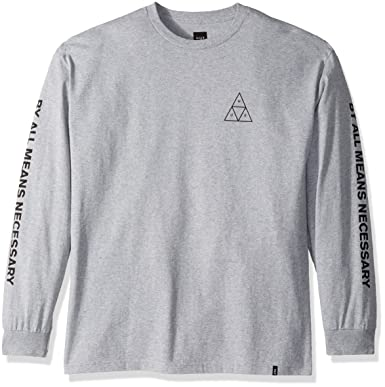 b3573b7e008f8 Amazon.com: HUF Men's Triple Triangle L/s Tee: Clothing
