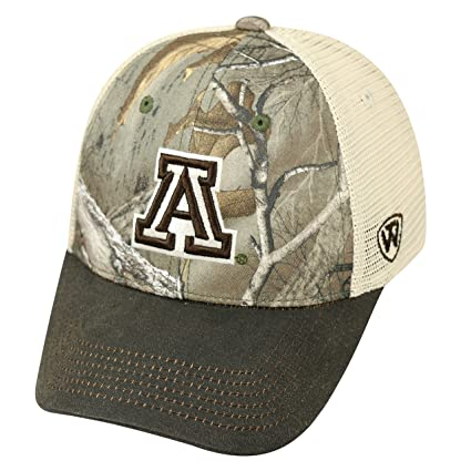 purchase cheap 680e9 c17bd Top of the World NCAA Arizona Wildcats Logger Adjustable Hat, One Size, Camo