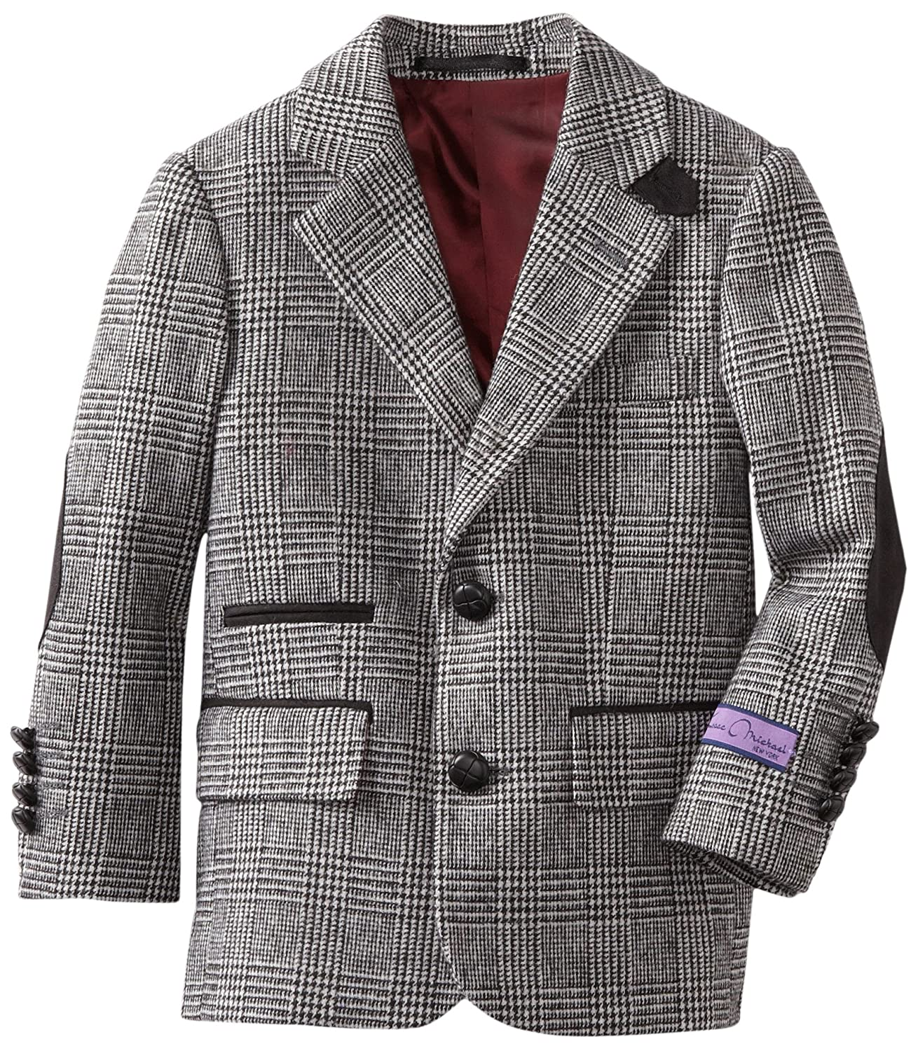 Isaac Michael Big Boys Tonal-Plaid Blazer Jacket Isaac Michael Boys 8-20 8011B
