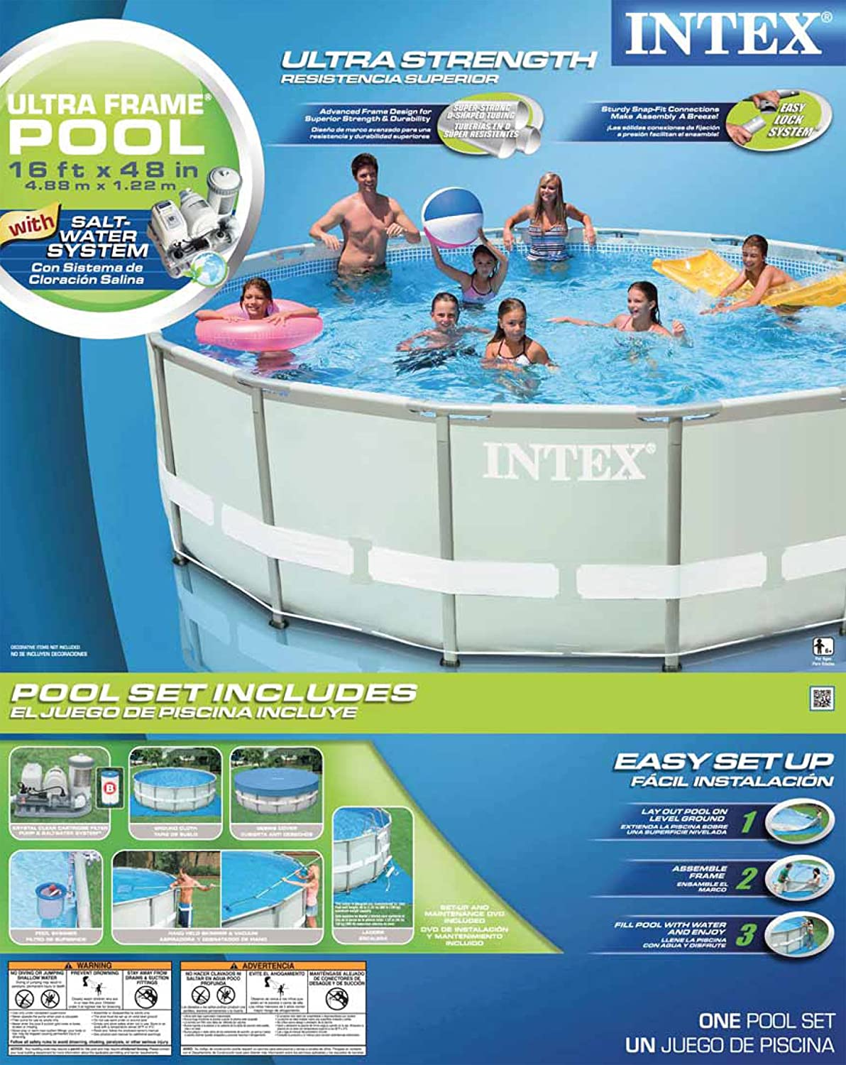 Enchanting Intex Ultra Frame Pool 20 X 52 Festooning - Ideas de ...
