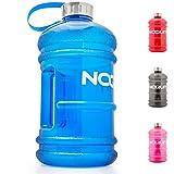 NOQUIT Water Jug - 2.2 L Trinkflasche - XXL Sport-Wasserflasche - BPA & DEHP frei - perfekt für Crossfit, Bodybuilding & Kampfsport
