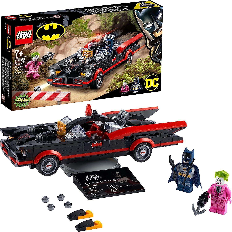 レゴ(LEGO) スーパー・ヒーローズ バットマン(TM) クラシック TVシリーズ - バットモービル 76188