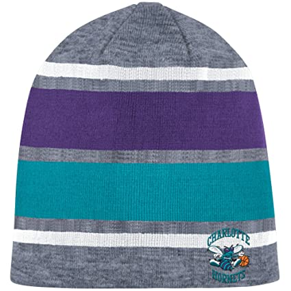 047c909bc4d6f8 ... free shipping mitchell ness athletic grey beanie knit hat one size charlotte  hornets throwback 28e58 0b9db ...