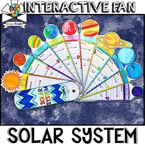 Solar system activity, grades 3-6