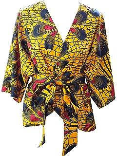 Veste Wax Kimono Chemisier Top Gilet Court Cardigan Blouse Violet zxR04qO5w4