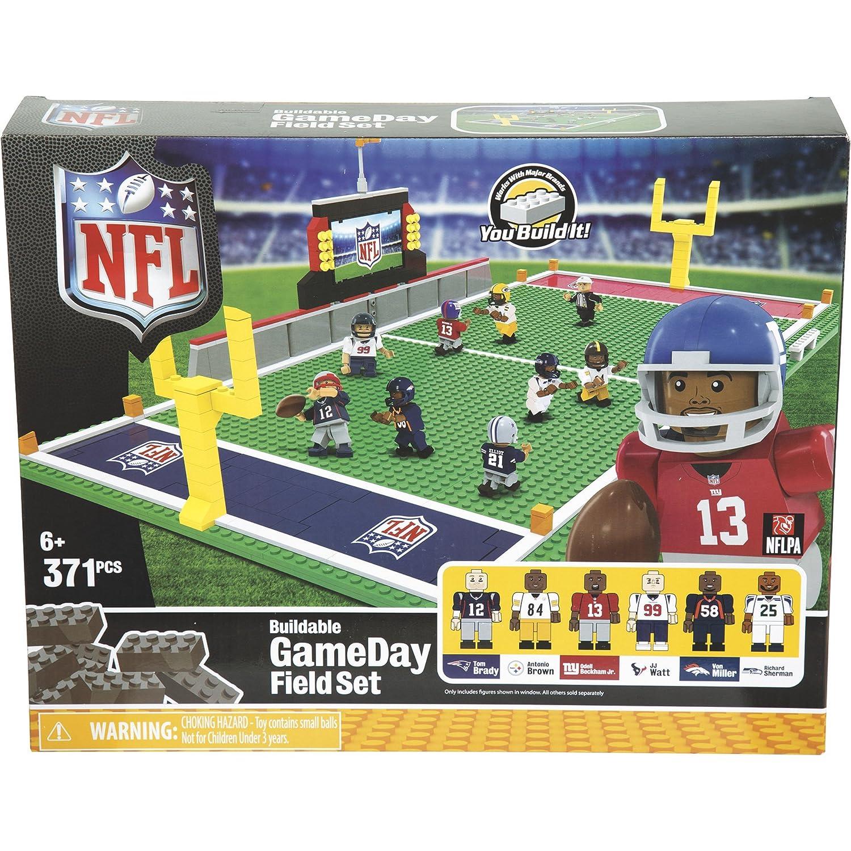 OYO Sports NFL Full Field Building Block Set /— 371 Pieces