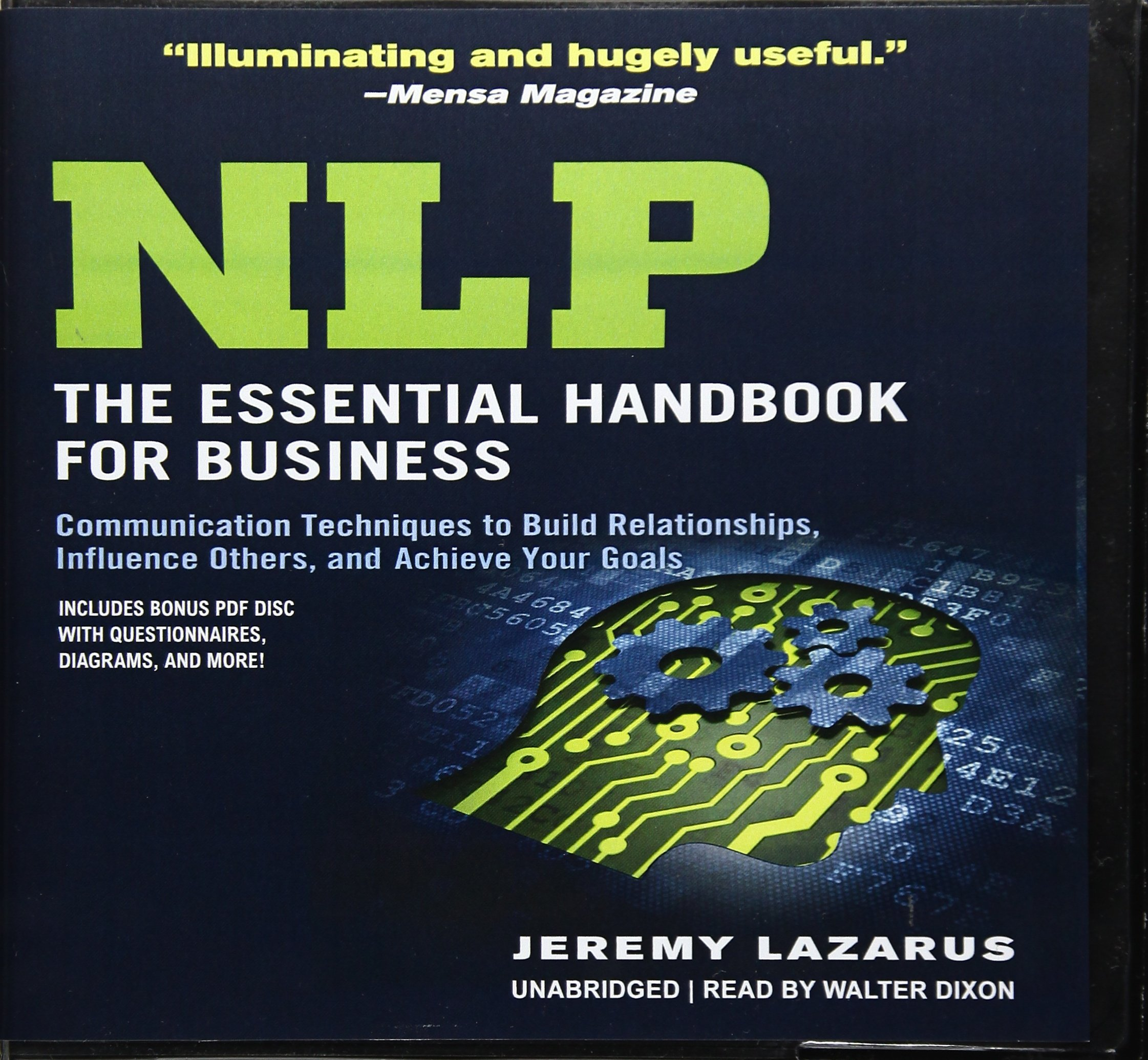 Nlp: The Essential Handbook for Business: Communication Techniques to Build Relationships, Influence Others, and Achieve Your Goals; Library Edition