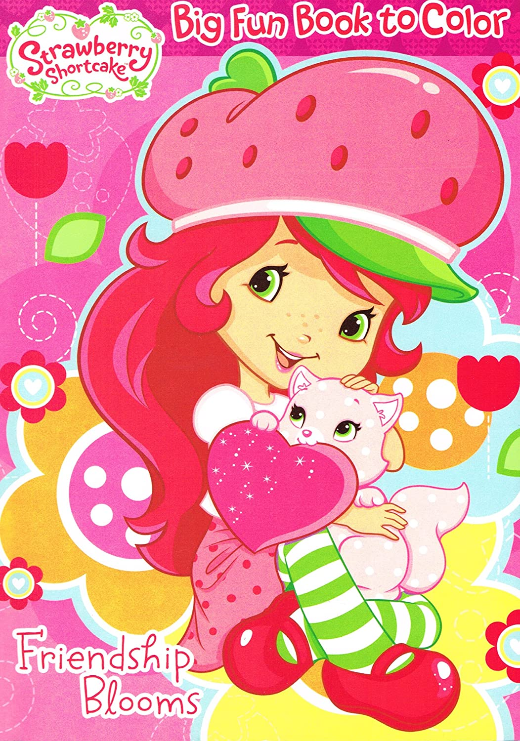 - Amazon.com: 1 Piece Of Strawberry Shortcake Coloring Book - 96p