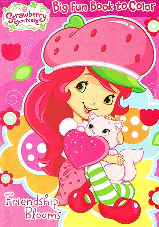 - Amazon.com: 1 Piece Of Strawberry Shortcake Coloring Book - 96p, Assorted:  Home & Kitchen