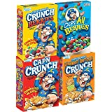 Quaker Cap'n Crunch Breakfast Cereal, 4 Flavor Variety Pack