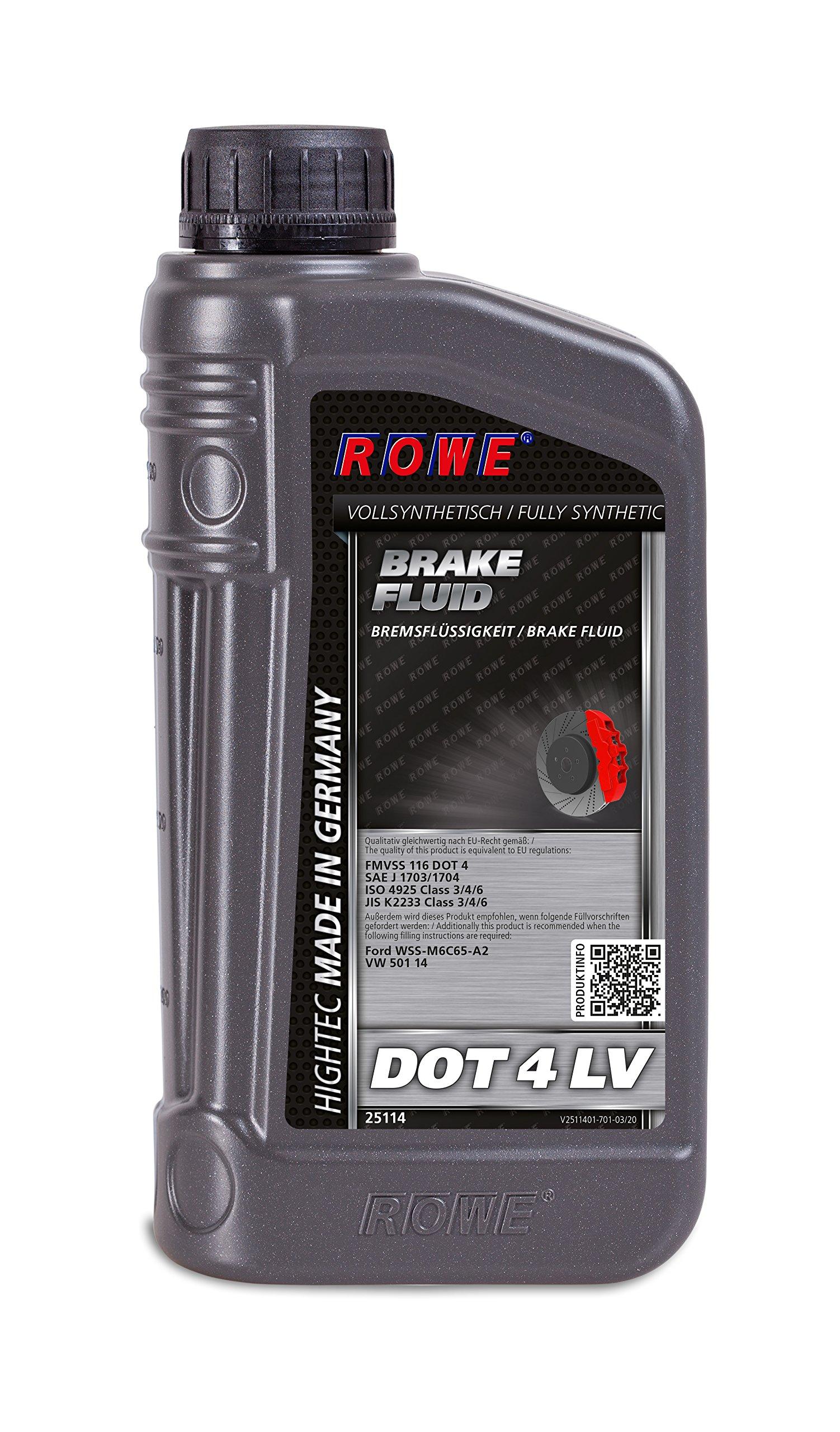 Brake Fluid Rowe 2511417103 Audi A3