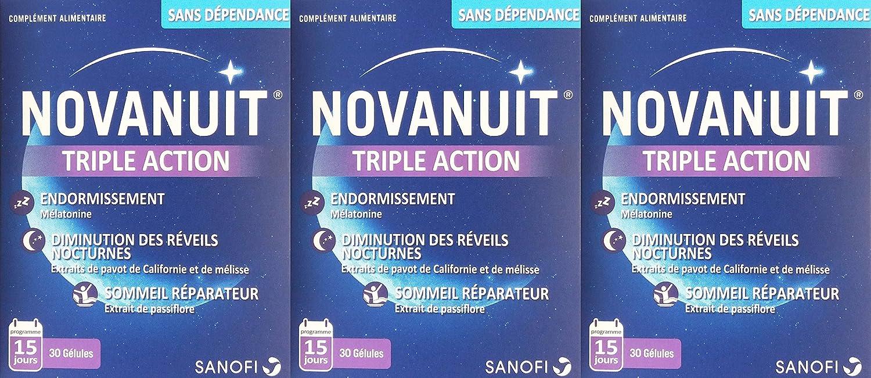 novanuit - Juego de 3: Amazon.es: Salud y cuidado personal