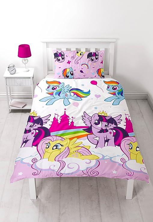 Copripiumino My Little Pony.My Little Pony Equestria Single Duvet Set Repeat Print Design