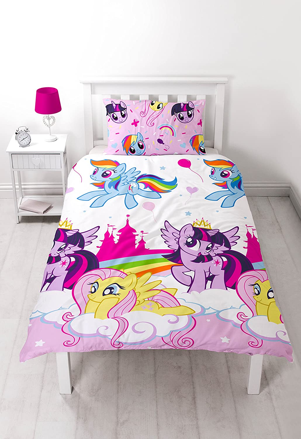 My Little Pony  Equestria  Single Duvet Set   Repeat Print Design   Amazon co uk  Kitchen   Home. My Little Pony  Equestria  Single Duvet Set   Repeat Print Design