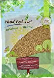 Food To Live Yellow Mustard Seeds (8 Ounces)