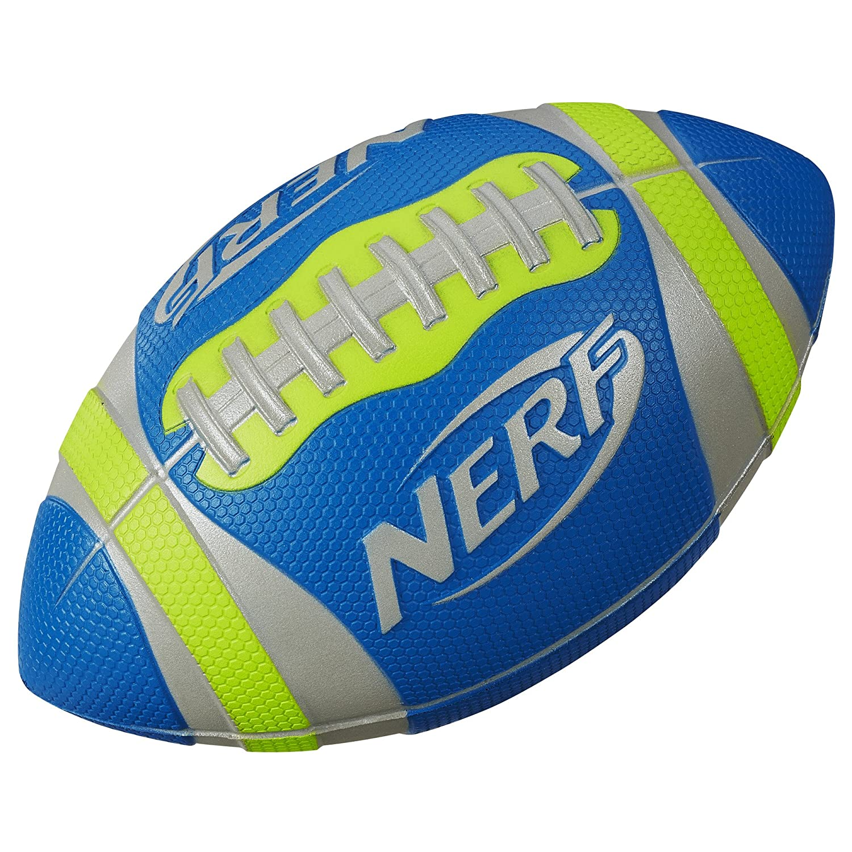Nerf Sports Pro Grip Football Toy, Green