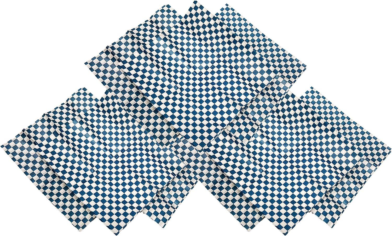 Set of 36 Blue Deli Basket Liners! Professional Quality 12