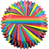 PME Snazzy Stripes Paper Baking Cases for Cupcakes, Standard Size, Pack of 60