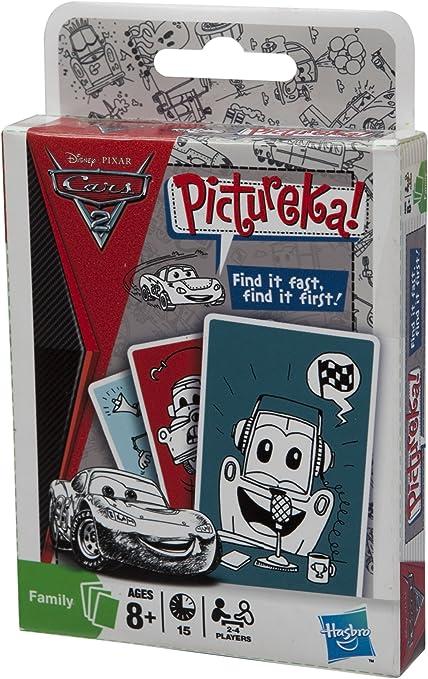 Hasbro Pictureka Cars 2 - Juego de Cartas: Amazon.es: Juguetes y juegos