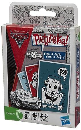 Hasbro Pictureka Cars 2 - Juego de cartas: Amazon.es ...