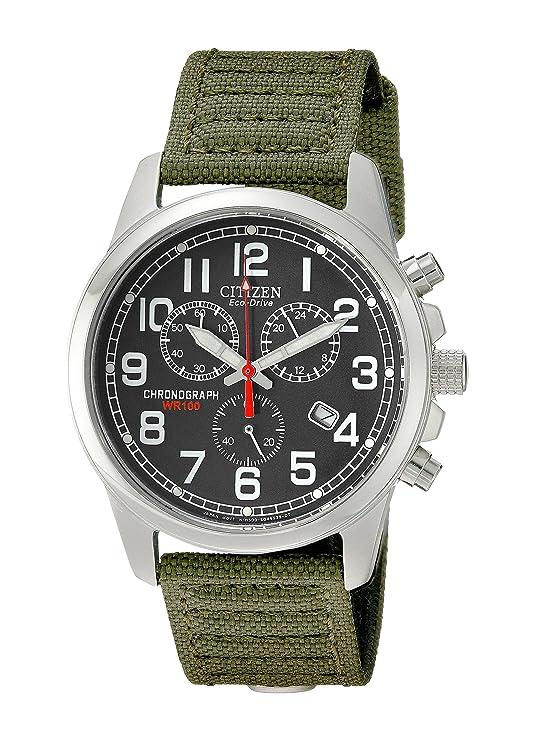 2b3e5f0d861 Amazon.com: Citizen Men's Eco-Drive Chronograph Watch with Date,  AT0200-05E: Citizen: Watches