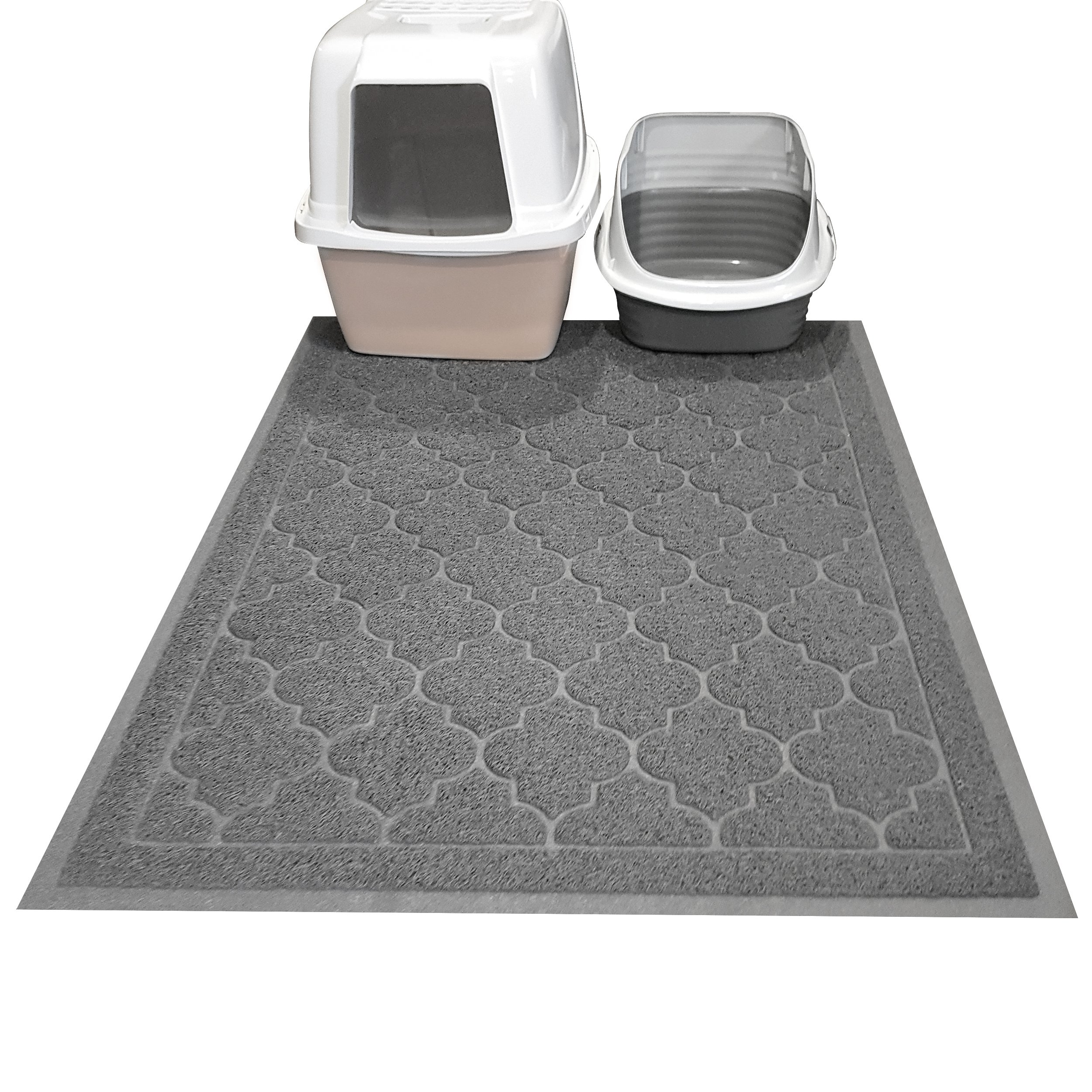 itm mat litter preve paws cat kitty free stylish size scatter jumbo bpa design mats rug and to x prevents color soft fab