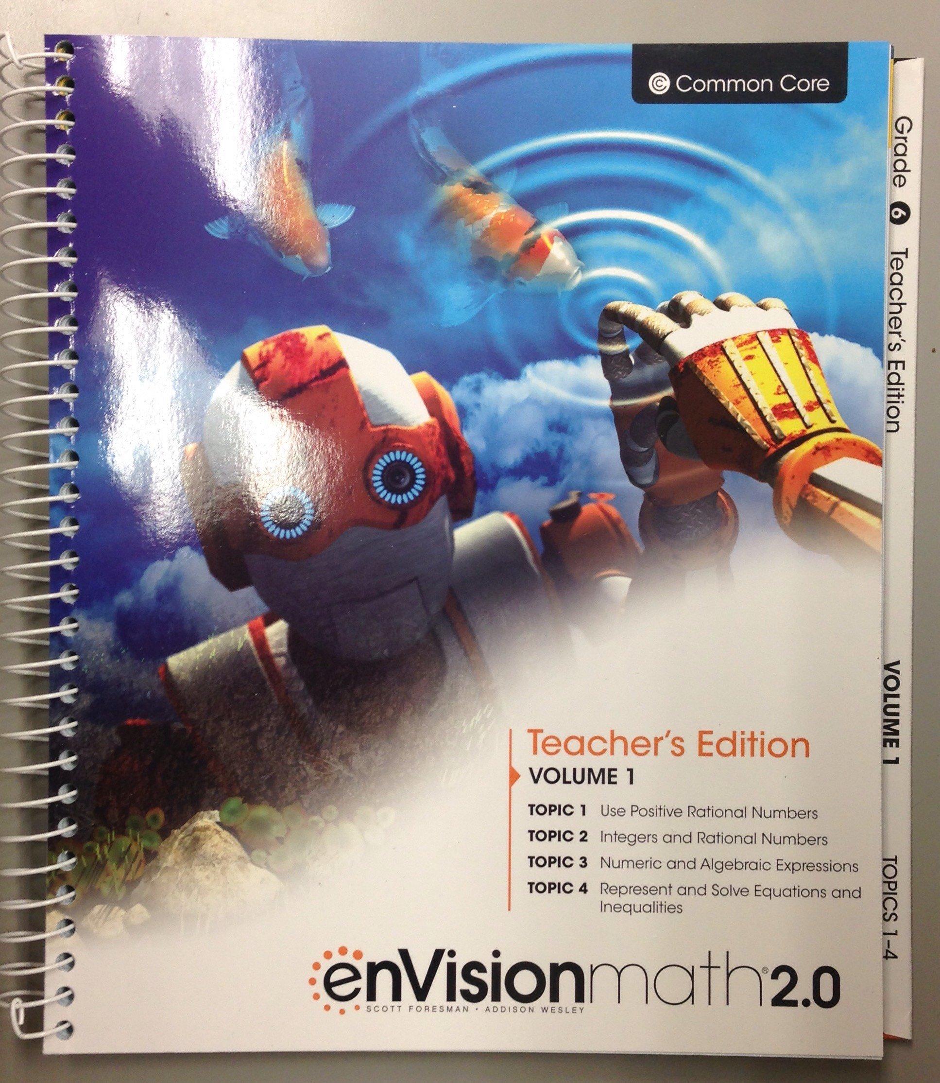 enVision math 2.0 - Grade 6 - Teacher's Edition - Volume One pdf