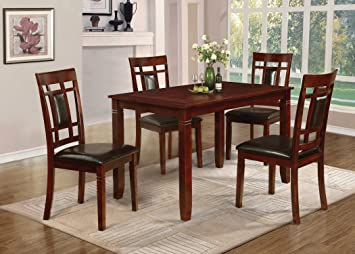 Amazoncom Home Source H Piece Davis Collection Asian - 30 x 60 dining table