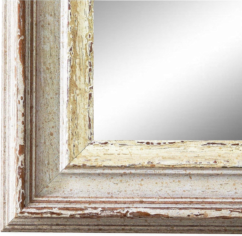 Trento Beige Silber 5,4 Wunschma/ße auf Anfrage Barock Spiegel Wandspiegel Badspiegel Flurspiegel Garderobenspiegel /Über 200 Gr/ö/ßen Au/ßenma/ß des Spiegels 20 x 30 Antik